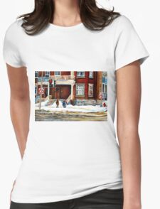 MONTREAL WINTER WALK AFTER THE SNOWSTORM T-Shirt