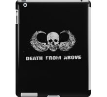 Death From Above (no background) iPad Case/Skin
