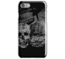 P-40 with Winged Skull iPhone Case/Skin