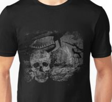 P-40 with Winged Skull Unisex T-Shirt