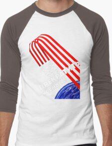 Cold War Poster Men's Baseball ¾ T-Shirt