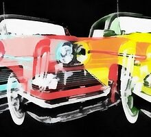 Edsel Triple Threat Pop Art by Edward Fielding