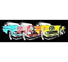 Edsel Triple Threat Pop Art Photographic Print