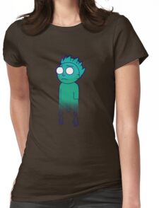 Phantom Morty (Pocket Mortys) Womens Fitted T-Shirt