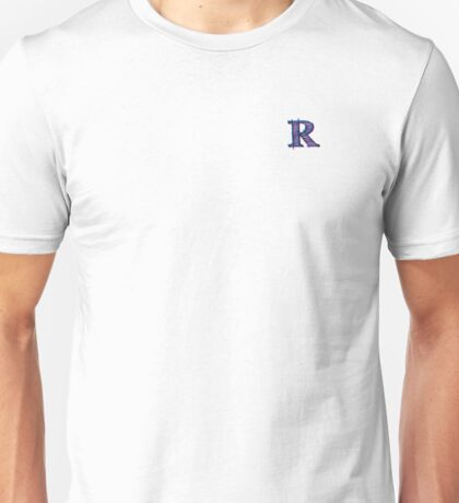 "TheRandomChannel - ""R"" Logo Design Unisex T-Shirt"