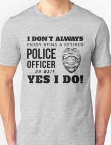 Protect & Serve! (Black Text) T-Shirt