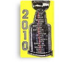 Chicago Blackhawks - 2010 Canvas Print