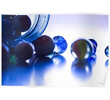 Marble Silouette Poster