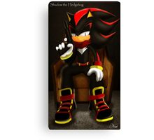 Shadow the  Hedgehog Canvas Print