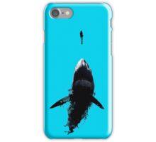 Shark - diver iPhone Case/Skin