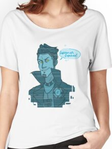 Cupcake- Handsome Jack Women's Relaxed Fit T-Shirt