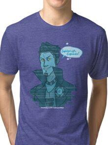 Cupcake- Handsome Jack Tri-blend T-Shirt
