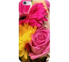 Bunch of flowers iPhone Case/Skin