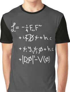 "Universe Lagrangian. ""w"" Graphic T-Shirt"
