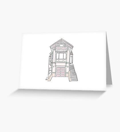 Casa Myrna House Color Greeting Card