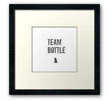 Team Bottle - The Last Of Us Framed Print