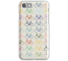 bike pattern iPhone Case/Skin