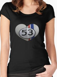 Herbie the Love Bug! Women's Fitted Scoop T-Shirt