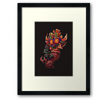 Skull Kid Framed Print