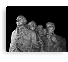 Mount Rushmore National Memorial Scale Model Canvas Print