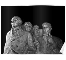 Mount Rushmore National Memorial Scale Model Poster