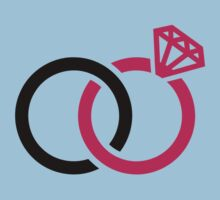 Wedding rings Baby Tee