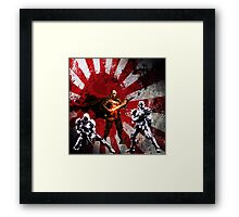Honor to the emperor, and the entire galaxy!!! Framed Print