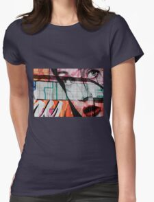 The Girl  Womens Fitted T-Shirt