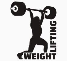 Weightlifting Baby Tee