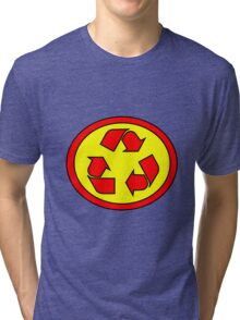 Hero, Heroine, Superhero, Super Recycling Tri-blend T-Shirt
