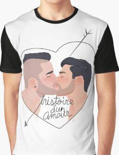 Histoire d'un amour Graphic T-Shirt