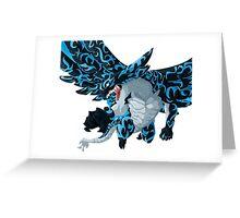 Acnologia - Fairy Tail Greeting Card