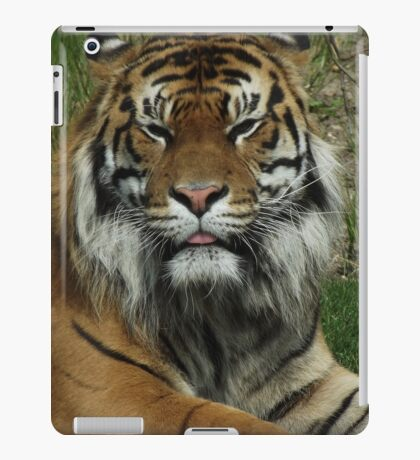 The True King of the Jungle iPad Case/Skin