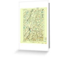 New York NY Canton 122789 1911 62500 Greeting Card