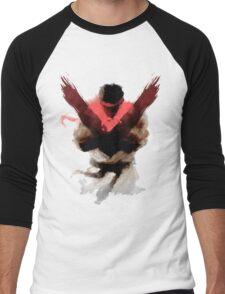 The Street Fighter Men's Baseball ¾ T-Shirt