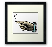 Trigger Finger Framed Print