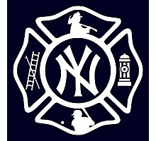 FDNY - Yankees style Photographic Print
