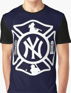 FDNY - Yankees style Graphic T-Shirt