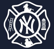 FDNY - Yankees style One Piece - Short Sleeve