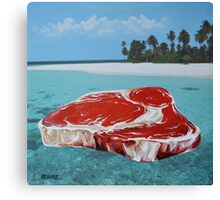 The Great Barrier Beef Canvas Print