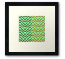 HappyChevron Framed Print