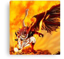 Natsu - Dragon Mode Canvas Print