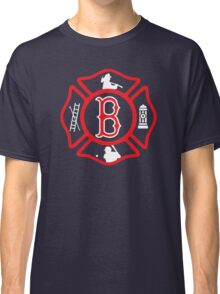 Boston Fire - Red Sox style Classic T-Shirt