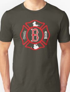 Boston Fire - Red Sox style T-Shirt