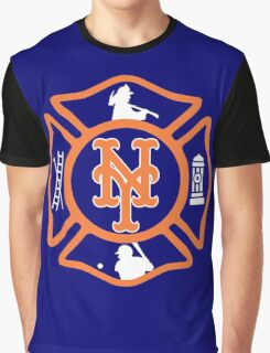 FDNY - Mets style Graphic T-Shirt