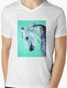 Grace - Horse Art by Valentina Miletic Mens V-Neck T-Shirt