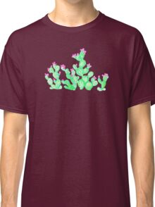 Prickly Pear Spring - White Classic T-Shirt