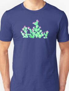 Prickly Pear Spring - White Unisex T-Shirt