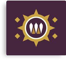 The Queen's Wrath Emblem Canvas Print