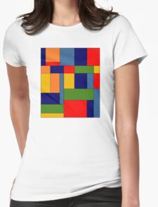 Abstract #348 Womens Fitted T-Shirt